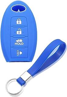 غطاء مفتاح سيليكون مفتاح fob من لينك، غطاء حماية عن بعد لهاتف Infiniti EX35 FX50 G35 G37 M45 QX56 FX50 M35 M56 QX60 QX80 س...