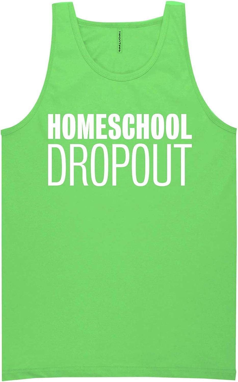 zerogravitee Homeschool Dropout Neon Tank Top
