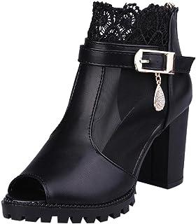 : Bottes Femme GongzhuMM : Chaussures et Sacs