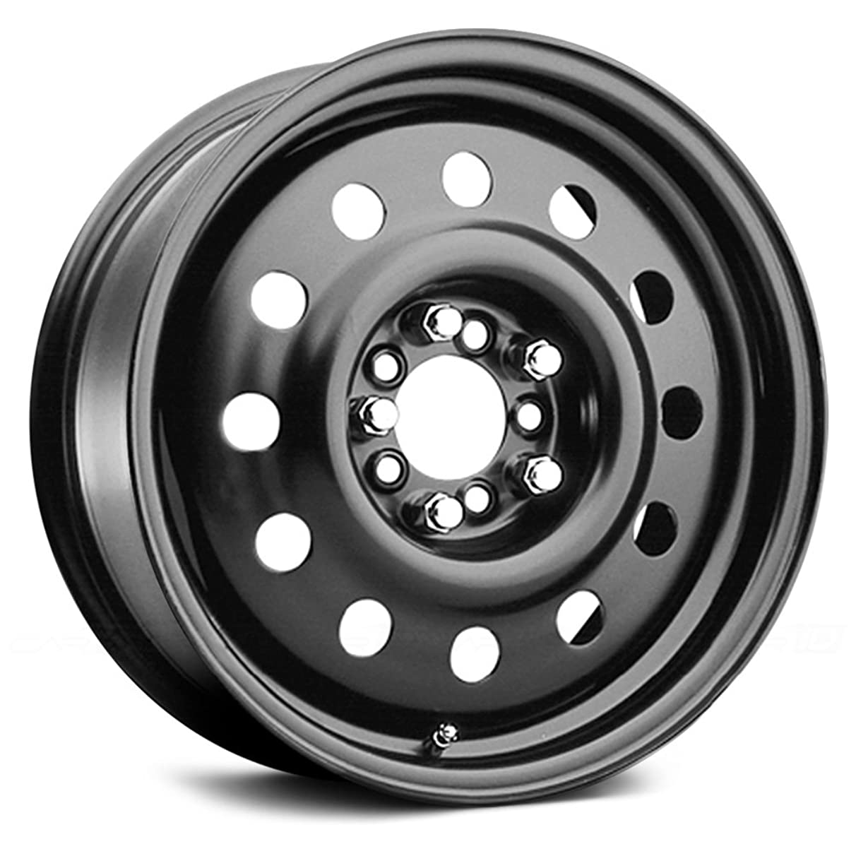 Pacer Black Modular 17 Black Wheel / Rim 5x110 & 5x120 with a 38mm Offset and a 72 Hub Bore. Partnumber 83B-7713