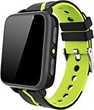 Kids Smart Watch for Boys Girls - HD Touch Screen Sports Smartwatch Phone with Call Camera Games Recorder Alarm Music Player for Children Teen Students Age 3-12 (G612-Black)