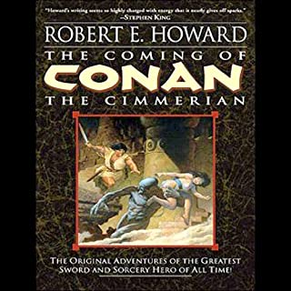The Coming of Conan the Cimmerian cover art