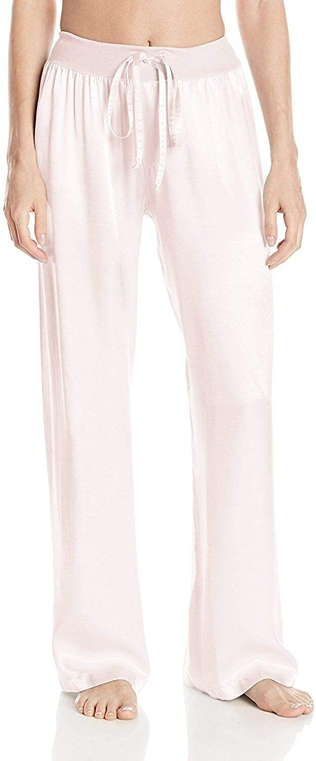PJ Harlow Jolie Satin Attention brand Pajama Pant String excellence with Blush Small Draw