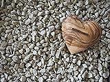 NATUREHOME Herz aus Olivenholz – Holz Handschmeichler Glücksbringer ideal als Geschenk zur Hochzeit Taufe Geburt Geburtstag oder als Schutzengel Anti-Stress Holzherz Deko (5 cm) - 2