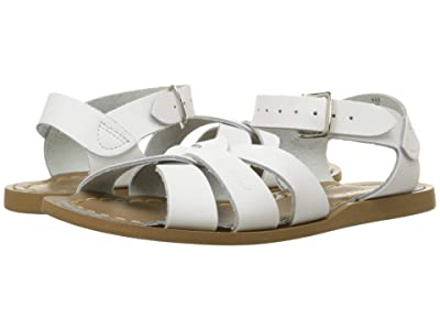 Salt Water Sandal by Hoy Shoes The Original Sandal (Big Kid/Adult) (White) Girls Shoes