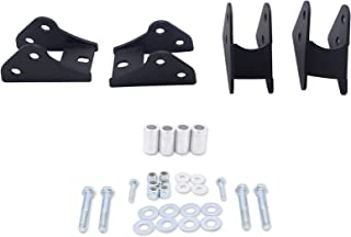 WSays 2.5''-3'' Front Rear Suspension Full Lift Kit for 2013-2019 Polaris Ranger XP 900 and Crew