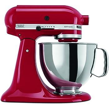 KitchenAid RRK150ER  5 Qt. Artisan Series - Empire Red (Renewed)