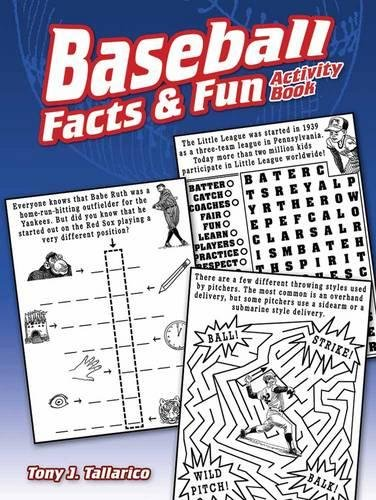 Compare Textbook Prices for Baseball Facts & Fun Activity Book Dover Children's Activity Books Act Csm Edition ISBN 9780486814421 by Tallarico Jr., Tony J.