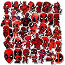 Deadpool Stickers for Water Bottles,Aesthetic Superhero Stickers for Teens,Girls,Kids,Laptop,Phone,Travel Extra Durable