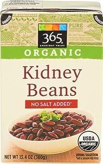 365 Everyday Value, Organic Kidney Beans, No Salt Added, 13.4 oz