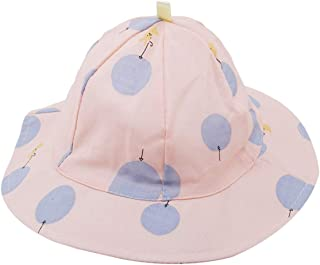 LALANG EJY Toddler Kids Sun Cap Polka Dot Baby Bucket Hat Summer Outdoor Girl Boy Beach Hats