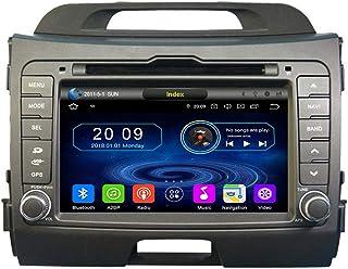 TAFFIO® 8' Touchscreen Android Autoradio DVD GPS Navigation Bluetooth Kompatibel mit Kia Sportage