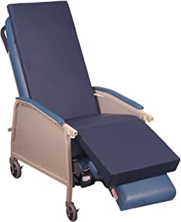 Blue Chip Medical Products 6200NS Blue Chip Medical Gel Recliner Overlay for Home Recliner, Geri Chair & Lift Chair Made in USA Hospital Grade