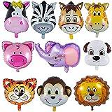 YIKEF Folienballon Tiere