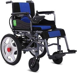Inicio Accesorios Sillas de ruedas eléctricas para personas mayores Discapacitados Silla de ruedas eléctrica plegable compacta y ligera Modos automáticos manuales conmutables de seguridad Silla de