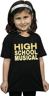 Disney Niñas High School Musical The Musical Lights Logo Camiseta