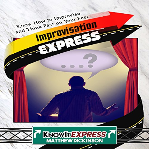Improvisation Express audiobook cover art