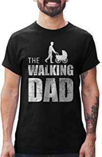 Shirtracer The Walking Dad Herren T-Shirt und Männer Tshirt