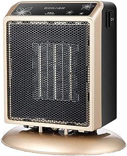 Best Ning Calentador Mini Pequeña Oficina en casa Portátil Pequeño Calentador de Sol Dormitorio Dormitorio Ultra silencioso Aire Acondicionado pequeño 900 W 220 V Radiador portátil Oro