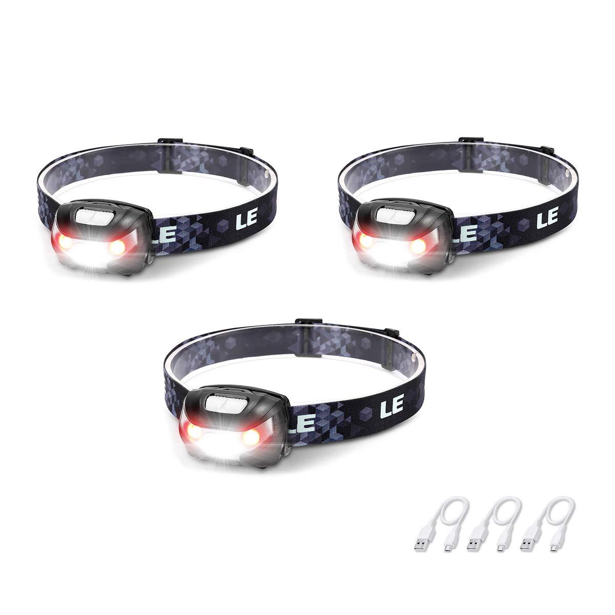 Rechargeable Headlights Flashlight Lighting Comfortable