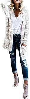 Women Cardigan, Realdo Hoodie Knit Long Sleeve Sweaters with Pockets