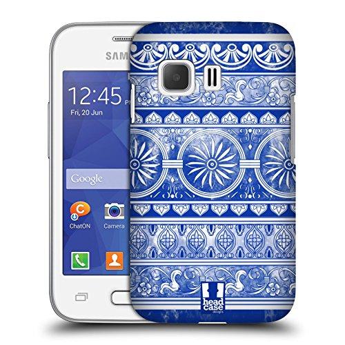 Head Case Designs Ingwertopf Chinesische Vase Muster Harte Rueckseiten Huelle kompatibel mit Samsung Galaxy Young 2