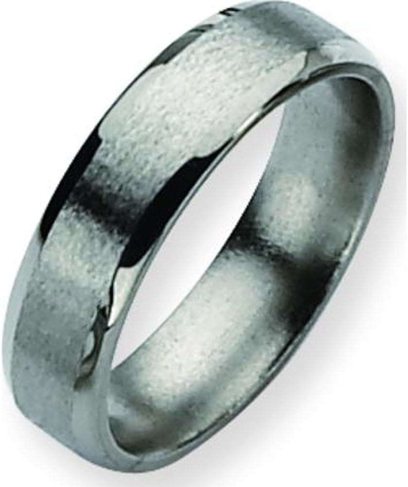 Titanium 6mm Satin Mens Wedding Popular 10 Ranking TOP20 Ring Size Band