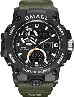 Men's Sports Watch, Simple Fashion Digital Watch, Multi-Functional Military Watch, Large Dial Outdoor Digital Watch