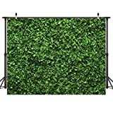 Dudaacvt 5x3ft Green Floral Leaves Backdrop Still Life Grass Leaf Pictures Background Summer Spring Jungle Party Home Decor Outdoorsy Theme Shoot Props D332