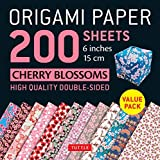 Origami Paper 200 sheets Cherry Blossoms 6' (15 cm)