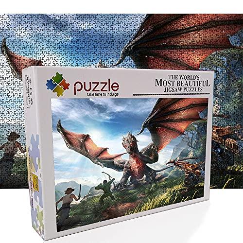 Puzzle de 1000 piezas de 1001 piezas, impresionante rompecabezas para adultos, adultos y jóvenes, divertido juego de rompecabezas