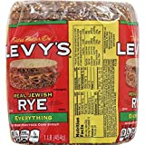 Levy's Real Jewish Rye Everything Bread, 16 oz...