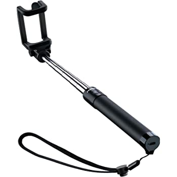 Mpow Selfie Stick, Lightweight Extendable 31.9 Inch Monopod with Bluetooth Remote Compatible iPhone12/12 Pro/SE /11/ Max/ XS/Max/XR/X/8/8P/7/7P/6S, Galaxy S20/S10/ S10 Plus/S9/8/7/6 and More, Black