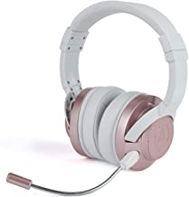 PowerA Fusion Wired Stereo Gaming Headset with Mic for PlayStation 4, Xbox One, X, Xbox One S, Xbox 360, Nintendo Switch, PC, Mac, VR, Android, and iOS - Rose Gold - Not Machine Specific