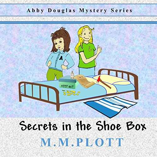 Secrets in the Shoebox audiobook cover art