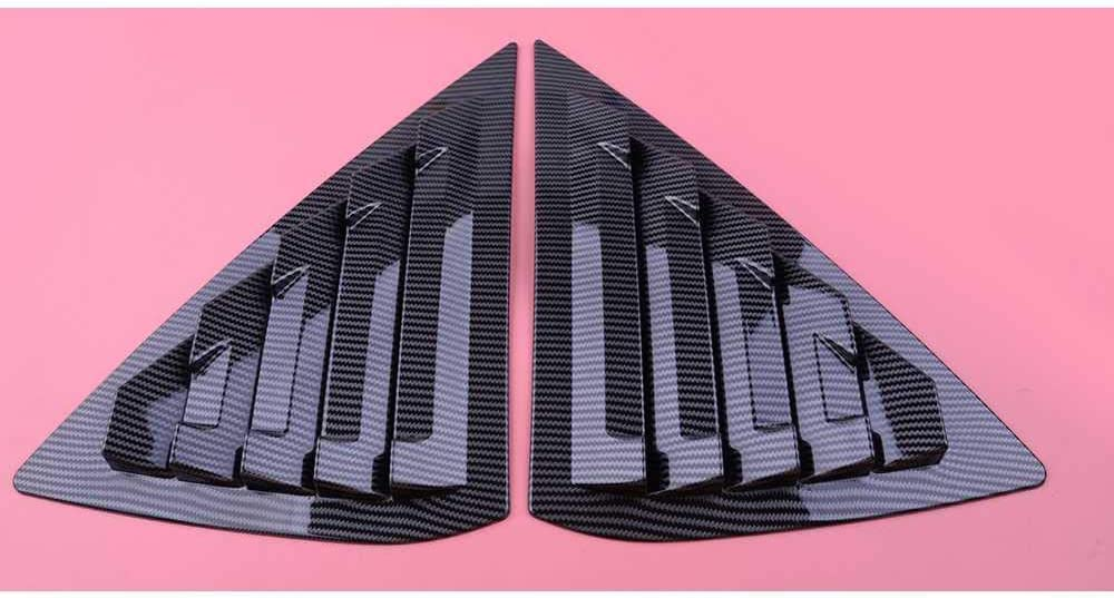 MIOAHD Car Price reduction Indianapolis Mall Auto Rear Window Louver Vent Fit for Cover Sen Nissan