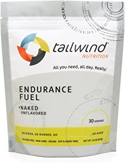 Tailwind Nutrition Naked (Unflavored) Endurance Fuel 30 Serving - Hydration Drink Mix with Electrolytes, Carbohydrates - Non-GMO, Gluten-Free, Vegan, No Soy or Dairy