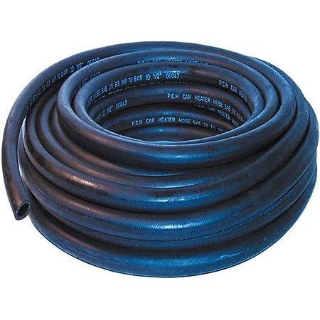 19mm ID Black 2 Metre Length Rubber Marine Fuel /& Oil Hose AutoSiliconeHoses