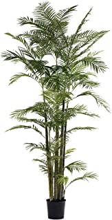 Little Green House 230 cm Green synthetic Areca Palm in Vase