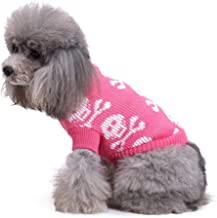 duduxiaomaibu Small Dog Turtleneck Knitted Coat for Dogs Sweaters Pet Clothes Jumper Pullover