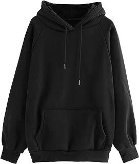 womens oversized black hoodie