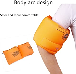 Premium Thick Polyester Kaboll Safety Inflatable Drum-Type Swimming Arm Bands Floatation Water Wings Rollup Sleeves Swimming Rings Floats for Adult and Kids