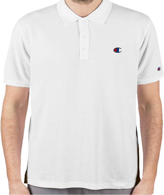 Champion Mens Short Sleeve Polo Shirt Logo Extended Sizes for Men