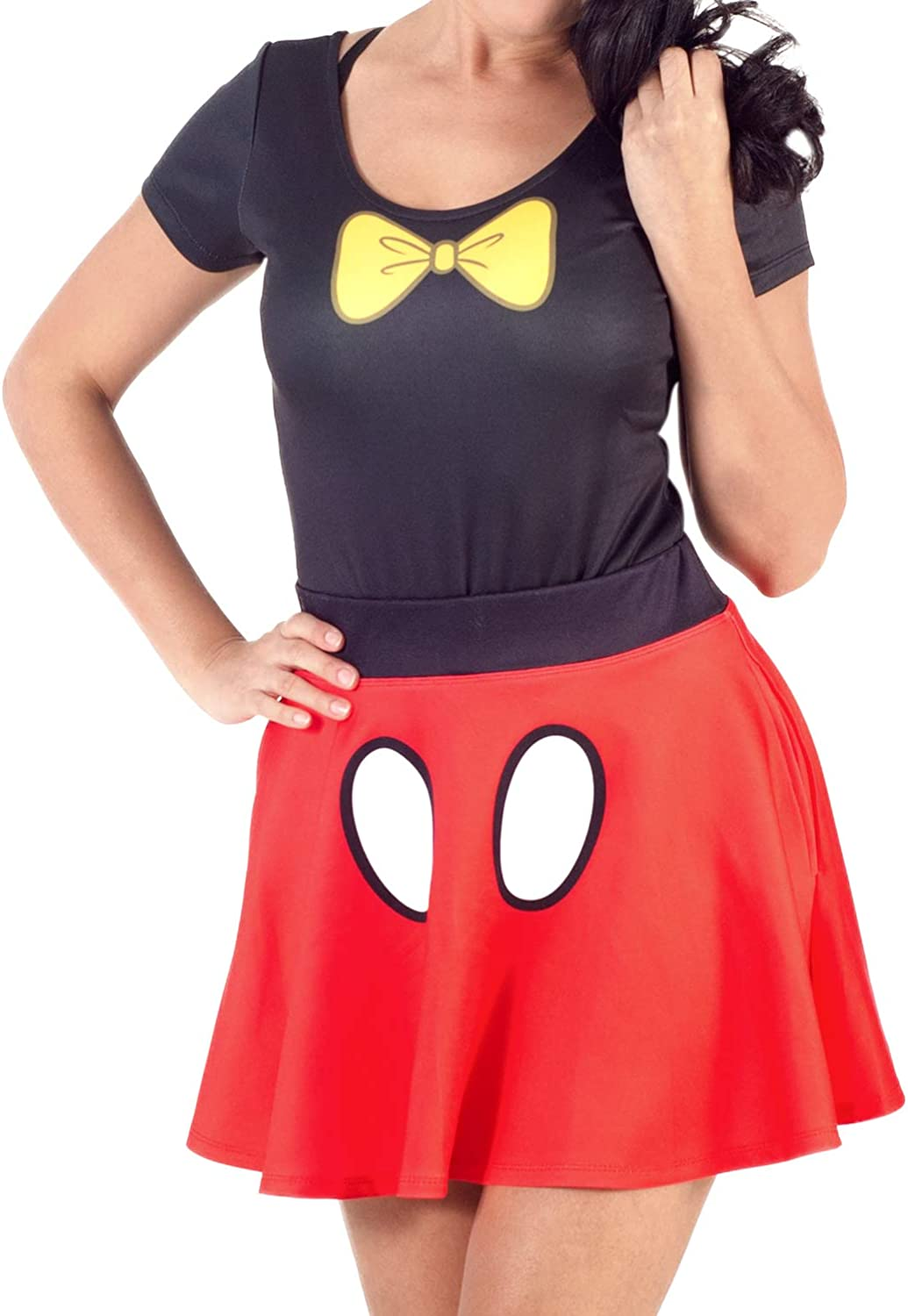 Selling and selling Disney Under blast sales Minnie Mouse Bodysuit and Set Costume Skirt