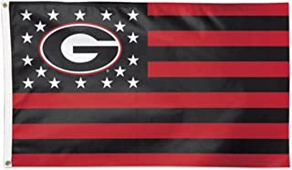 WinCraft NCAA University of Georgia 08058115 Deluxe Flag, 3' x 5'