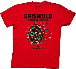 National Lampoon Christmas Vacation Griswold Lighting Adult T-Shirt