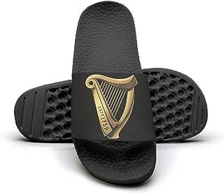djsdsok Guinness-Extra-Stout-Label- Mens Sandals Shoes Fashion Anti-Slip Slippers