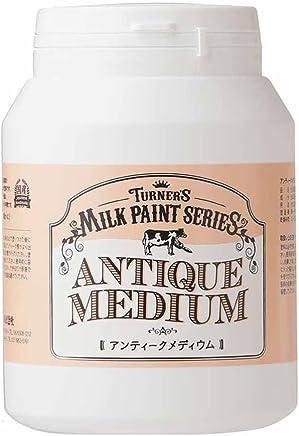ターナー色彩 メディウム ミルクペイント アンティークメディウム MK450101 450ml