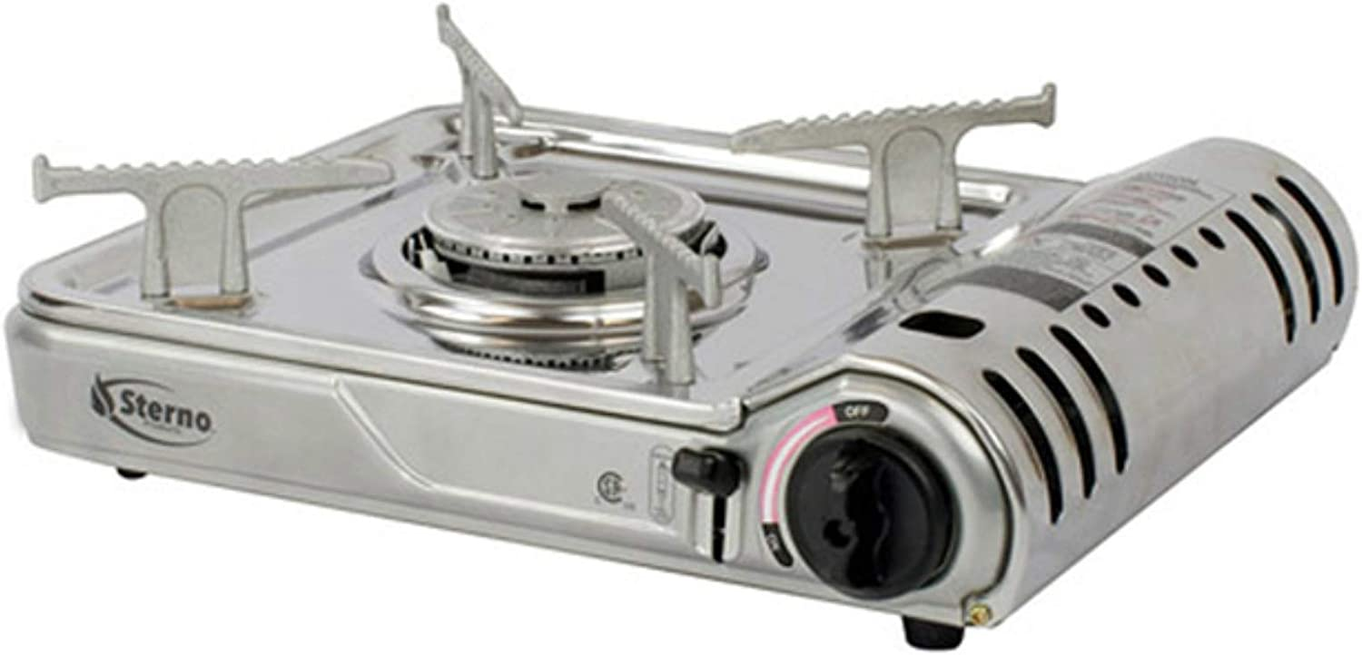Regular store Sterno Stainless Steel Stove - Ranking TOP7 7K 50178