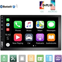 Camecho Double Din Car Stereo 7'' 1080P HD Touch Screen D-Play Universal Car..